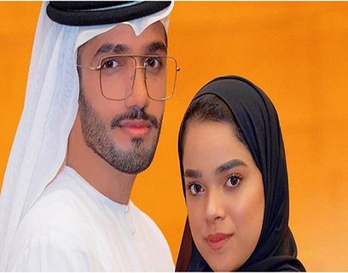 """بالفيديو.. أحمد خميس يرتدي ملابس زوجته مشاعل الشحي: """" لايق علي"""""""