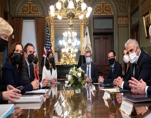 كامالا هاريس : الإدارة الأمريكية ملتزمة بإسرائيل وأمنها