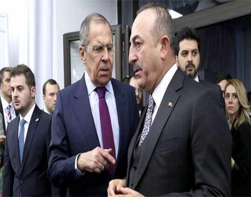 وزيرا خارجية روسيا وتركيا يحثان الأطراف الأفغانية على ضمان الأمن في أسرع وقت