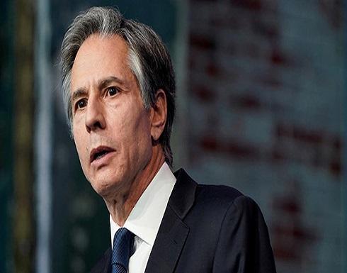 بلينكن: نريد ليبيا دولة مستقرة بعيداً عن التدخلات الأجنبية