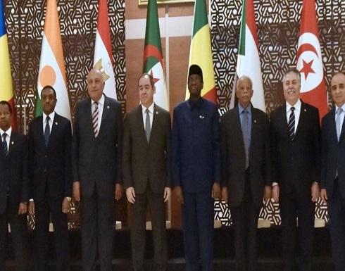 اجتماع الجزائر يدعم وقف النار وتنفيذ مخرجات برلين حول ليبيا