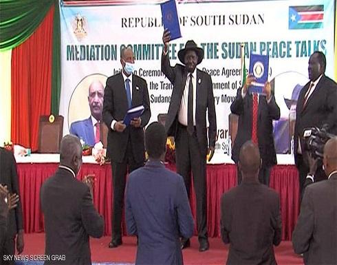 الحكومة السودانية توقع اتفاق السلام مع حركات مسلحة