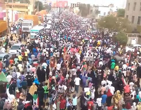 """شاهد :  انطلاق مظاهرات """"القصاص العادل"""" بالخرطوم وعدة ولايات"""
