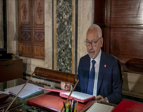 تونس.. الغنوشي يبحث الأزمة بليبيا مع مسؤول برلماني أوروبي