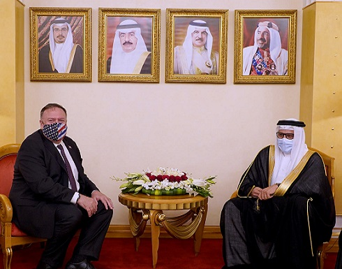 بومبيو: بحثت في البحرين مواجهة نفوذ إيران الخبيث
