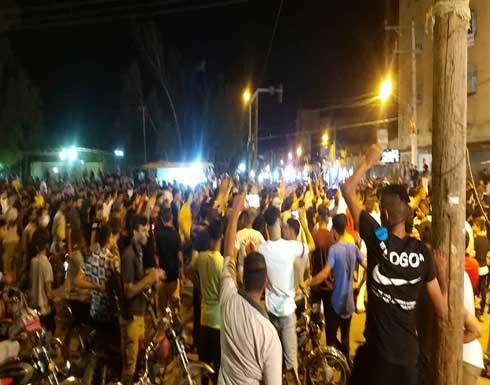 اطلاق نار على المتظاهرين بالأهواز وشن حملة اعتقالات .. بالفيديو