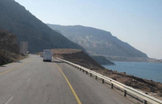 بدء الغلق الأمني في البحر الميت