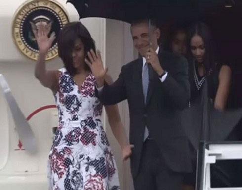 بالفيديو: وصول أوباما إلى كوبا في أول زيارة لرئيس أمريكي منذ 88 عاماً