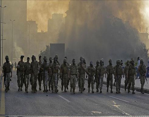 الجيش اللبناني يرسل تعزيزات إلى طرابلس