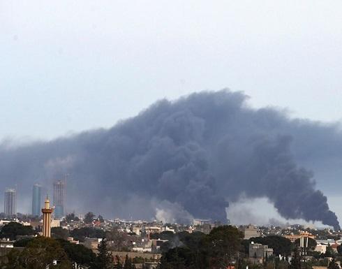 تدمير منظومة دفاع جوي روسية في قاعدة الوطية الليبية  ... بالفيديو