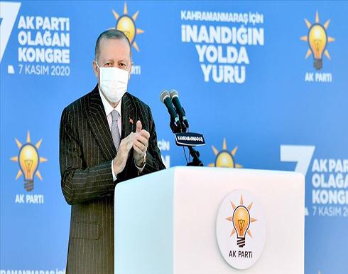 """أردوغان: وردتنا أنباء جيدة بشأن """"قره باغ"""" والنصر قريب"""