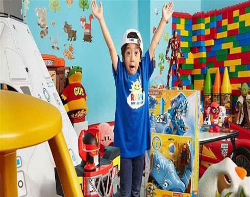 طفل يكسب 22 مليون دولار عبر يوتيوب.. هذا ما فعله