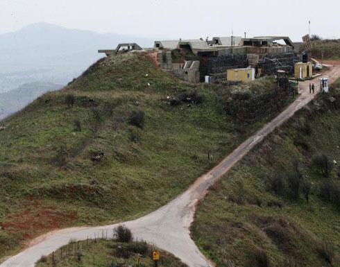 منظومات صاروخية إسرائيلية بالجولان وتغطية نارية