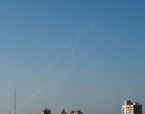 سقوط طائرة إسرائيلية مسيرة في منطقة حاجز بيت حانون إيرز بغزة