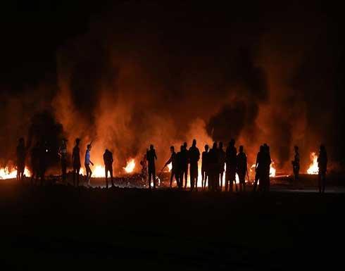 """لليوم الرابع.. تواصل تظاهرات """"الإرباك الليلي"""" على حدود غزة"""