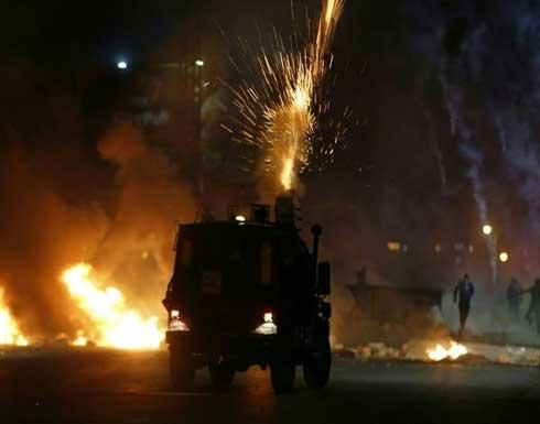 شاهد : مواجهات عنيفة مع الاحتلال بسلوان في القدس