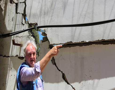 """مدير عمليات وكالة """"الأونروا"""" يعتذر من غزة"""
