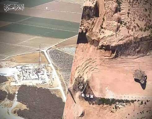 """بالفيديو: """"طائرة الزواري"""" كتائب القسام تكشف عن جيل جديدٍ من الطائرات المسيّرة"""