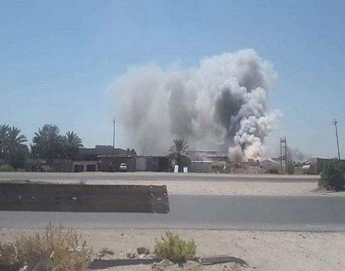 انفجار مستودع السلاح في كربلاء