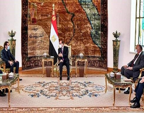 السيسي للحريري: مصر حريصة على إخراج لبنان من معاناته