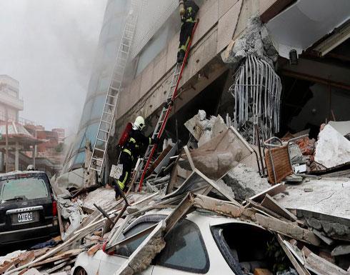 زلزال بقوة 5.7 درجة يضرب شرق تايوان