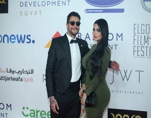 بـ قبلة على الخد.. أحمد الفيشاوي وزوجته يشعلان إنستجرام .. شاهد