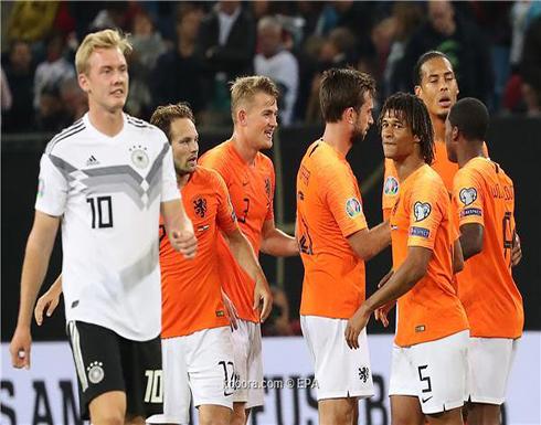 بالصور.. هولندا تثأر من ألمانيا برباعية صادمة