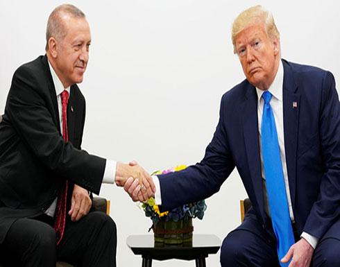 """ترامب وأردوغان يتفقان على """"حماية المدنيين"""" في إدلب"""