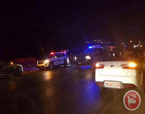 بالفيديو : إصابة 4 جنود إسرائيليين في عملية دهس قرب حاجز أمني شمالي القدس