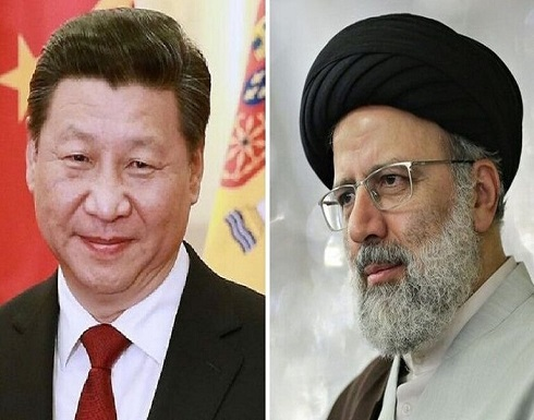رئيسي: مستعدون للتعاون مع الصين لإرساء الاستقرار في أفغانستان