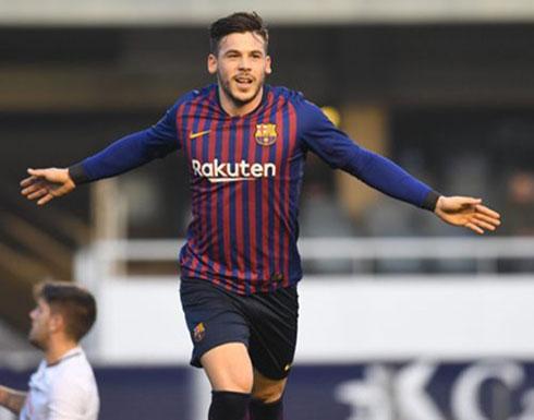 برشلونة يهزم فريق نجمه السابق إنيستا بثنائية نظيفة (شاهد)