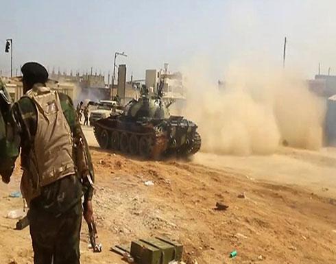 """طرابلس.. قوات """"الوفاق"""" تشن هجوما مضادا على حفتر"""