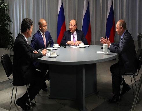 شاهد : بوتين يضع النقاط على الحروف ويوضح أسس علاقات روسيا مع إيران ودول الخليج العربية