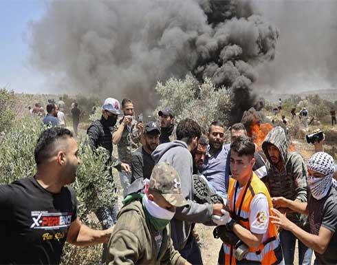 إصابة 211 فلسطينيا في نابلس خلال مواجهات مع قوات الاحتلال .. بالفيديو