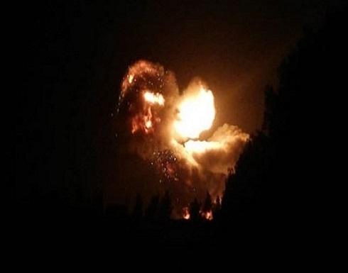 طائرة مسيرة مجهولة تقصف منشأة نفطية شمال سوريا