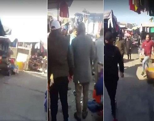 فيديو  : عملية انتحارية تهز وسط بغداد.. في خرق أمني خطير