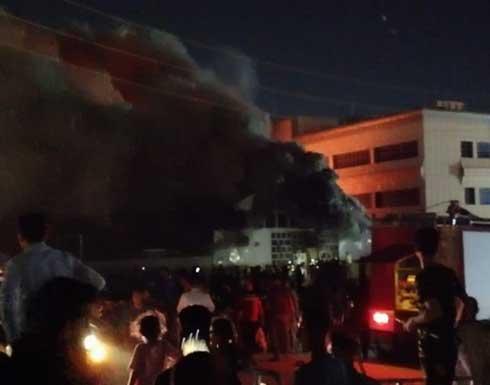 شاهد : 41 قتيلا في حريق مستشفى كورونا بالعراق