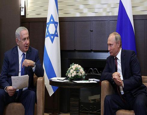 نتنياهو وبوتين سيجتمعان  بعد أسبوعين بشأن سوريا