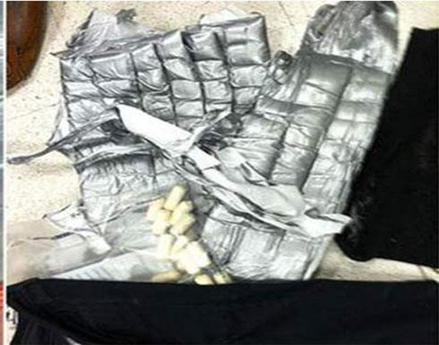 صور : ضبط تونسية بالمطار بمخدرات في ملابسها الداخلية