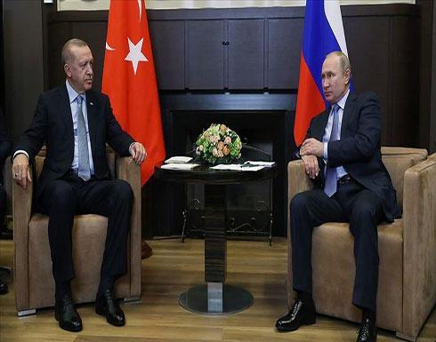 أردوغان يبحث مع بوتين التوتر في إدلب