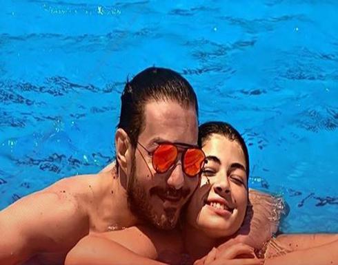 """ابنة """"أحمد زاهر"""" ترد على الإساءة لوالدها وشقيقتها بسبب صورة حمام السباحة"""