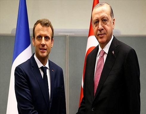 مباحثات هاتفية بين أردوغان وماكرون حول شرق المتوسط وأوروبا