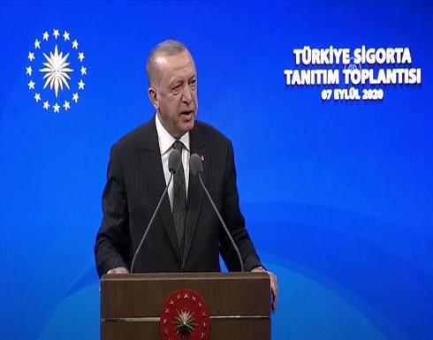 أردوغان: لن نسمح لأحد بنهب ثرواتنا