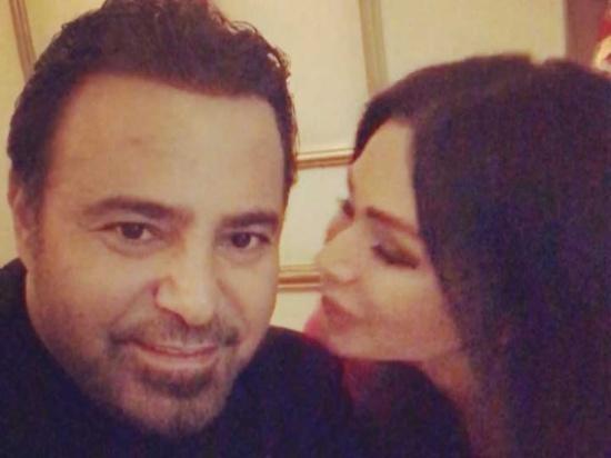 شاهد.. عاصي وكوليت الحلاني وقبلة رومانسية بمناسبة عيد الحب