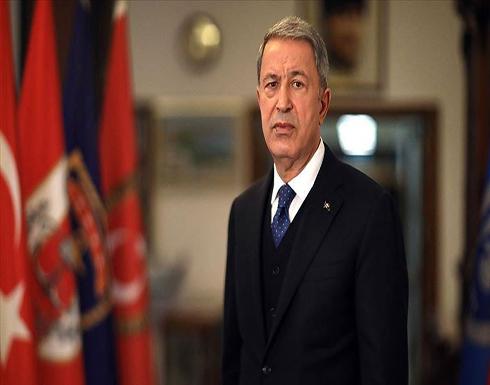 """أكار: تركيا تدعم الحوار وترفض """"الأمر الواقع"""" شرق المتوسط"""