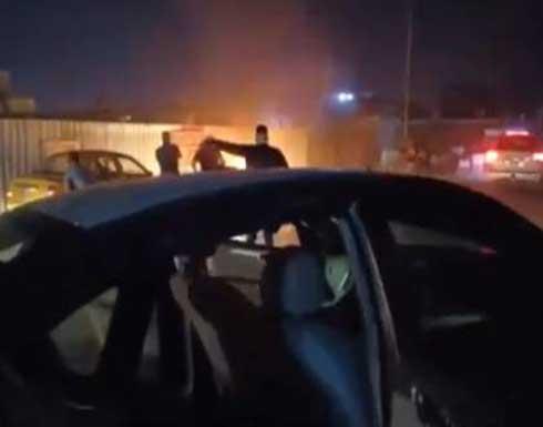 الأمن العراقي ينشر فيديو لحظة تفجير تاجر مخدرات نفسه شمال بغداد .. شاهد