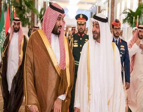 محمد بن سلمان ومحمد بن زايد يبحثان العلاقات الثنائية