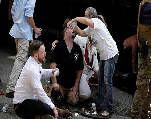 ترامب بعد مقتل شخص في احتجاجات فرجينيا: يجب أن يجتمع الأمريكيون على الحب