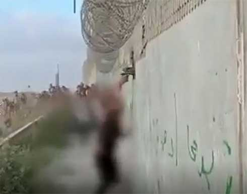 شاهد : فلسطيني يُطلق النار على جندي إسرائيلي من مسافة صفر شرق غزة