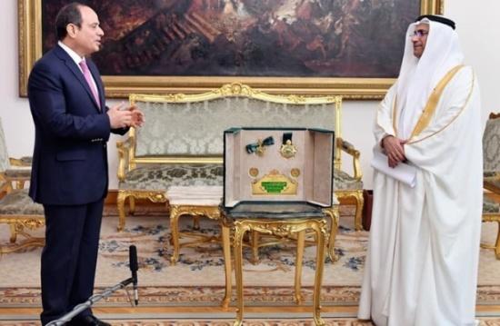 """البرلمان العربي يمنح السيسي وسام """"القائد"""" لهذا السبب"""""""